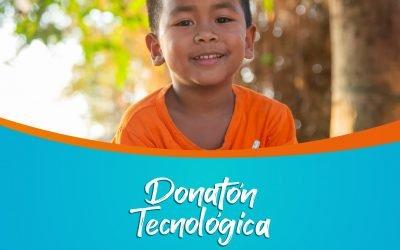 La #DonatónTecnológica de Medellín está logrando que más niños sigan aprendiendo en casa